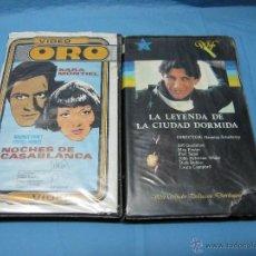 Cine: DOS PELICULAS DE VIDEO SISTEMA 2000 PELICULA. Lote 49095395