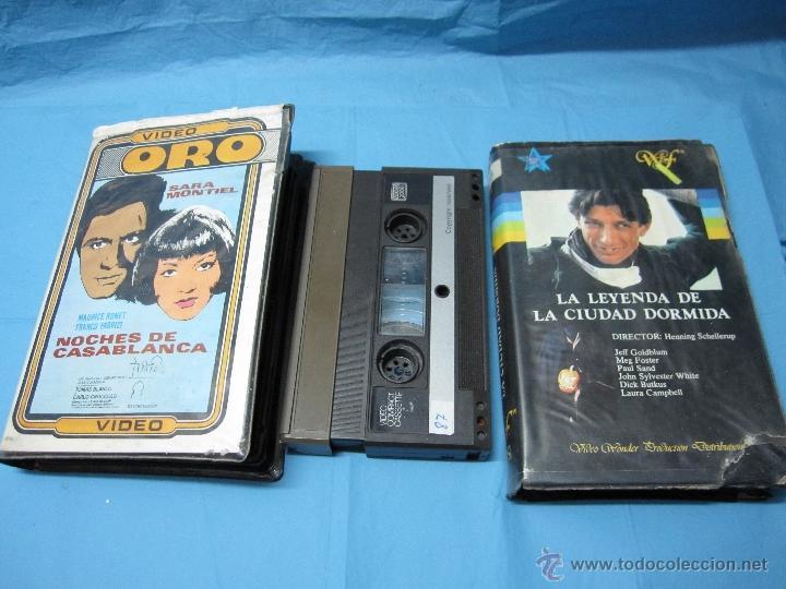 Cine: DOS PELICULAS DE VIDEO SISTEMA 2000 PELICULA - Foto 10 - 49095395