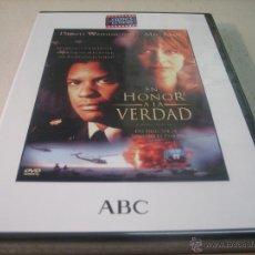 Cine: PELICULA CINE DVD PRECINTADA: EN HONOR A LA VERDAD. DENZEL WASHINGTON. MEG RYAN. Lote 49155309