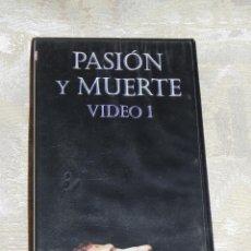 Vendo Pelicula VHS, Semana Santa de Sevilla, (Pasión y Muerte, Volumen, 1), Año 1998.