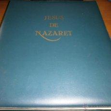 Cine: JESÚS DE NAZARET - FRANCO ZEFFIRELLI - 240 DIAPOSITIVAS - AUDIOVISUALES CLARET Nº 29 BARCELONA 1979. Lote 49355198