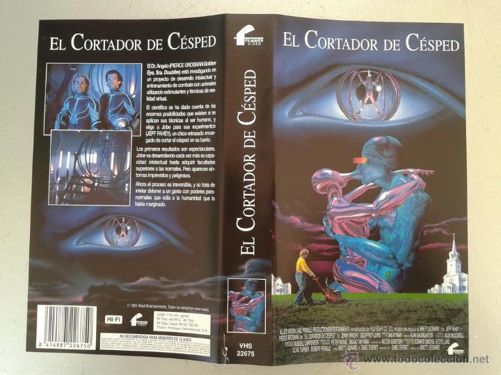 SOLO CARATULA VIDEO VHS - EL CORTADOR DE CESPED - JEFF FAHEY, PIERCE BROSNAN (Cine - Varios)