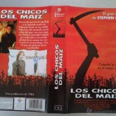 Cinema: SOLO CARATULA VIDEO VHS - LOS CHICOS DEL MAIZ - STEPHEN KING. Lote 49708038