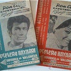 Cine: 2 CARTELERAS BAYARRI. 1964. Nº 379 Y 380. Lote 49864788