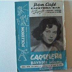 Cine: CARTELERA BAYARRI. Nº 276. Lote 49993719