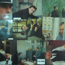 Cine: FLIC STORY (ALAIN DELON + JEAN LUC TRITIGNAN) 9 LOBBY CARDS. Lote 50233910