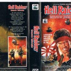 Cine: CARATULA HELL RAIDERS INVASORES INFERNALES. Lote 50547064