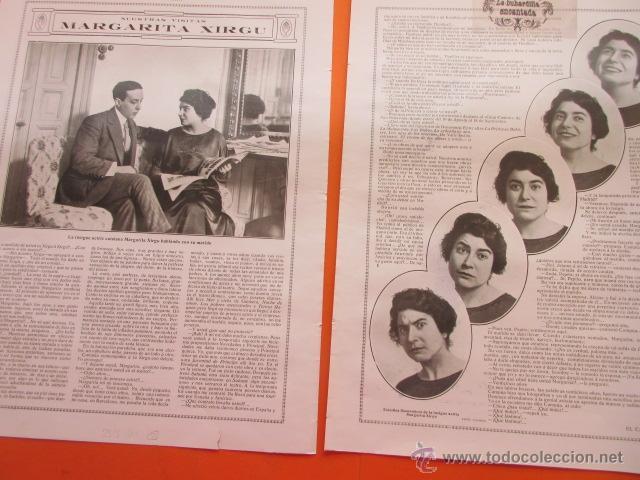 ARTICULO 1914 - MARGARITA XIRGU - 2 PAG. (Cine - Varios)
