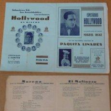 Cine: HOLLYWOOD EN DISCOS. Lote 51100203