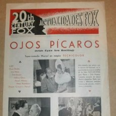 Cine: ACTUALIDADES FOX - ABRIL 1945. Lote 51116762