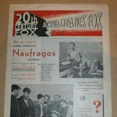 Cine: ACTUALIDADES FOX - FEBRERO 1945 . Lote 51116766