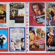 Cine: EL COLECCIONISTA REVISTA FILA 7, 8 LÁMINAS DE COLECCIÓN, 4 PELÍCULAS POR LAMINA Y FICHA EN TRASERA. Lote 51155574