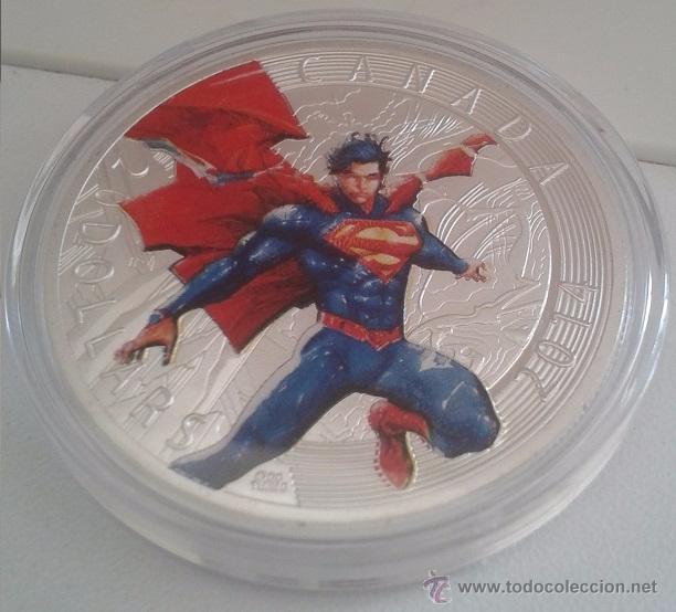 Cine: INTERESANTE LOTE 3 MONEDAS PLATA Y COLOR HEROES MARVEL SPIDERMAN SUPERMAN Y CAPITAN AMERICA - Foto 3 - 238728270