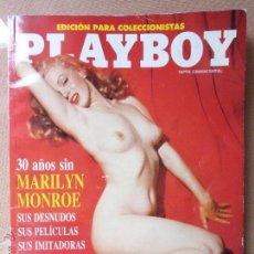 Cine: PLAYBOY. EDICIÓN COLECCIONISTA. 30 AÑOS SIN MARILYN MONROE - INCLUYE FOTOS DE MADONNA -. Lote 51764967
