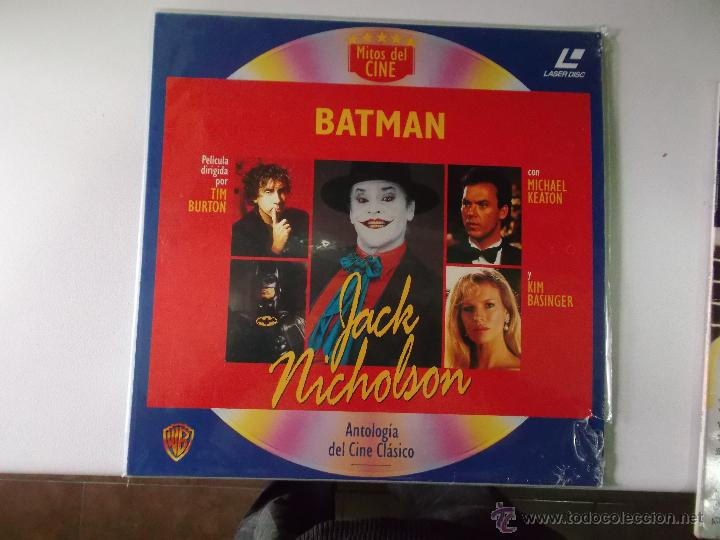 LASER DISC BATMAN - (Cine - Varios)