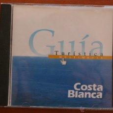 Cine: CD: GUÍA TURÍSTICA MULTIMEDIA DE LA COSTA BLANCA - ALICANTE MUNICIPIOS, CULTURA, COSTUMBRES, OCIO.... Lote 51940793