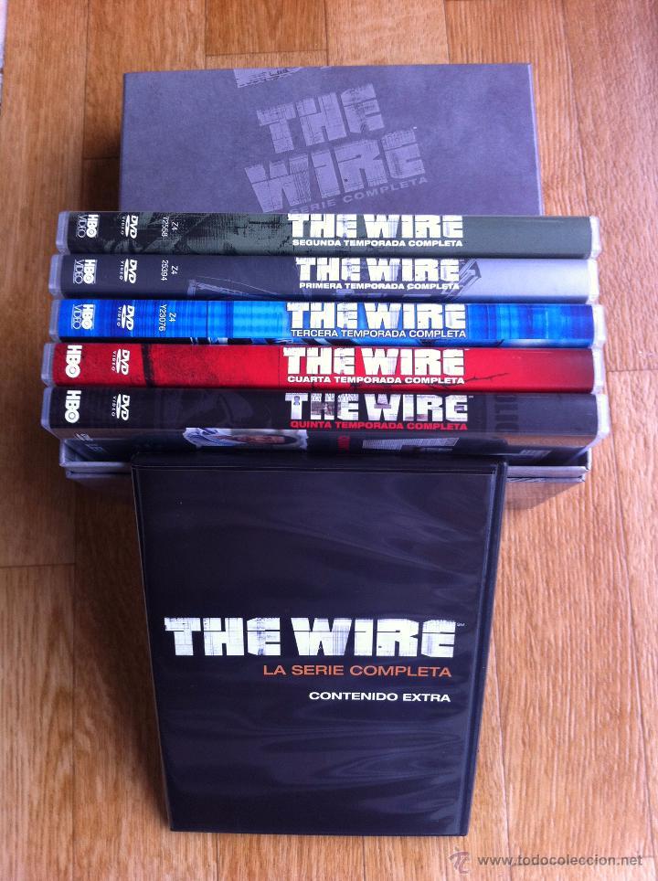 Serie tv hbo the wire, ed. especial en caja (co - Verkauft durch ...