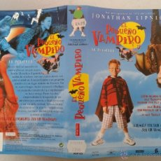 Cinema: SOLO CARATULA VIDEO VHS - EL PAQUEÑO VAMPIRO - JONATHAN LIPNICKI. Lote 52333346