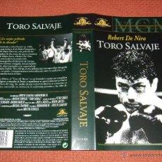 Cine: LOTE CARATULAS VHS ORIGINALES TORO SALVAJE 007 STALINGRADO EL PLANETA DE LOS SIMIOS STAR WARS ROCKY. Lote 51933365