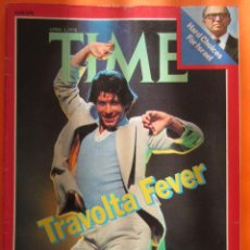 Cine: REVISTA COMPLETA TIME 3 ABRIL 1978 - JOHN TRAVOLTA BEE GEES - INGLES. Lote 52462039
