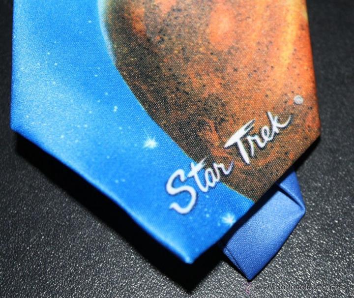 Cine: PRECIOSA CORBATA DE LA SAGA STAR TREK 100% ORIGINAL DE U.S.A 1991 MUY DIFICIL DE CONSEGUIR - Foto 2 - 52608065