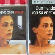 Cine: DVD Y LIBRO DURMIENDO CON SU ENEMIGO CON JULIA ROBERTS. Lote 53084908