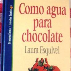 Cine: LIBRO LAURA ESQUIVEL COMO AGUA PARA CHOCOLATE. Lote 53085585