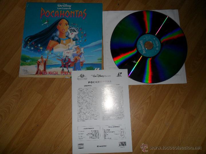 PELICULA LASER DISC: 'POCAHONTAS' (Cine - Varios)