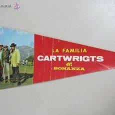 Cine: BANDERIN. LA FAMILIA CARTWRIGTS EN BONANZA. EDICIONES MANDOLINA. 1244.. Lote 53332544