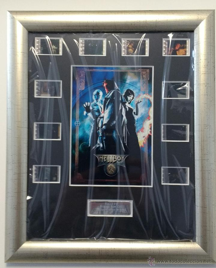 HELLBOY - FRAMED FILM CELLS - NUMERADO # 3/100 (E-FRAME POSTERS UK) - 35 MM - GUILLERMO DEL TORO (Cine - Varios)