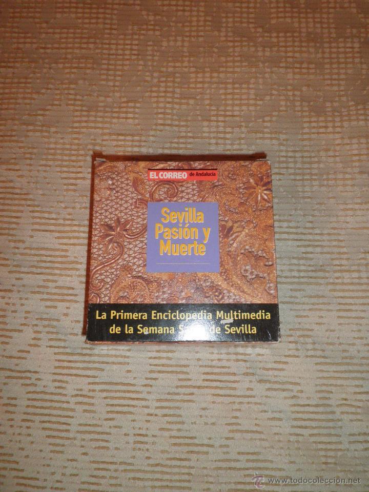 SEVILLA PASIÓN Y MUERTE EL CORREO DE ANDALUCÍA 1998 LOTE 16 CD 1ª ENCICLOPEDIA SEMANA SANTA SEVILLA (Cine - Varios)