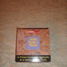 Cine: SEVILLA PASIÓN Y MUERTE EL CORREO DE ANDALUCÍA 1998 LOTE 16 CD 1ª ENCICLOPEDIA SEMANA SANTA SEVILLA. Lote 53767055