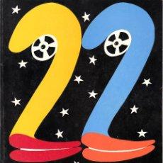 Cine: 22 FESTIVAL DE CINE IBEROAMERICANO DE HUELVA. NOVIEMBRE 1996. PROGRAMA RESEÑA DE LAS PELÍCULAS. Lote 53775231