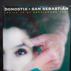 Cine: 45 FESTIVAL INTERNACIONAL DE CINE DE SAN SEBASTIAN - DONOSTIA -1997 - CATALOGO OFICIAL. Lote 54459393
