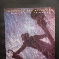 Cine: 44 FESTIVAL INTERNACIONAL DE CINE DE SAN SEBASTIAN - DONOSTIA -1997 - CATALOGO OFICIAL. Lote 54459436