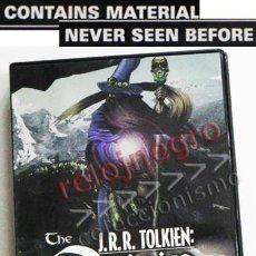 Cine: JRR TOLKIEN ORIGIN OF THE RINGS DVD EN INGLÉS- DOCUMENTAL EL SEÑOR DE LOS ANILLOS TRIBUTO DRANGONS &. Lote 54484809