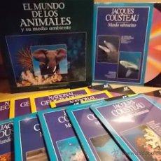Cine: LÁSER DISC !! EL MUNDO DE LOS ANIMALES / NATIONAL Y JACQUES COUSTEAU. COMPLETO PRECINTADO.. Lote 54711612