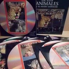 Cine: LÁSER DISC !! EL MUNDO DE LOS ANIMALES / FAUNA SALVAJE Y LOS CACHORROS. COMPLETO PRECINTADO.. Lote 54711774