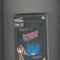 Cine: VIDEO VHS: INVASORES DE MARTE. Lote 55503507