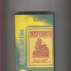 Cine: VIDEO VHS: ORIGENES DEL CINE: NOSFERATU (1922). Lote 55530291