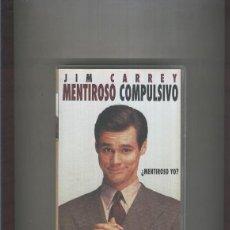Cine: VIDEO VHS: MENTIROSO COMPULSIVO CON JIM CARREY. Lote 55533992