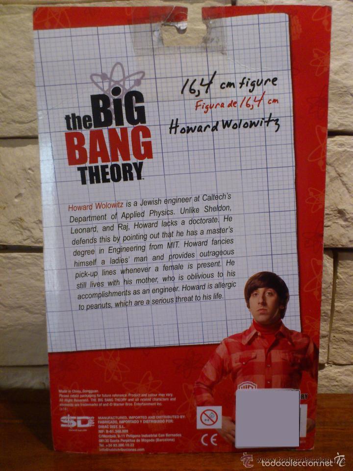 Cine: Figura The Big Bang Theory Howard Wolowitz * En blister sellado * Rare - Foto 9 - 111810299