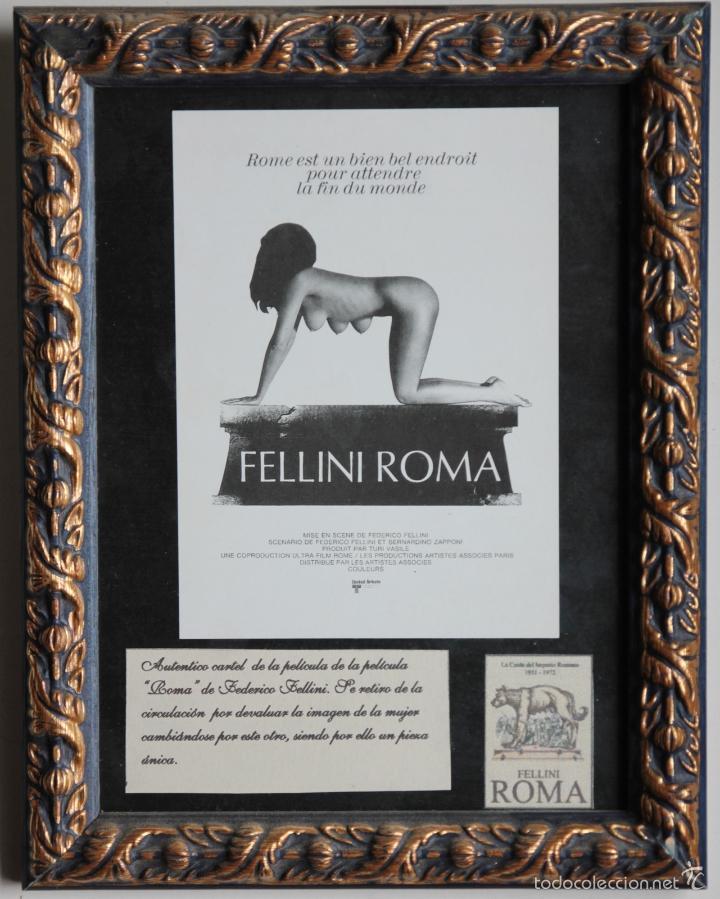 FELLINI ROMA -PROHIBIDO (Cine - Varios)