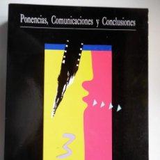 Cine: CONGRESO DE CINE-CLUBS DEL ESTADO ESPAÑOL. PONENCIAS, COMUNICACIONES Y CONCLUSIONES. . Lote 56728384