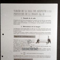 Cine: COLECCION DE 17 PLACAS CRISTAL PROYECTO PARA MONTAJE DE SALAS CINEMATOGRAFICAS. Lote 57079894