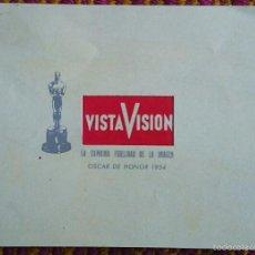 Cine: INVITACIÓN DE PARAMOUNT FILMS A DEMOSTRACIÓN DEL VISTAVISION EN EL CINE CAPITOL DE VALENCIA.. Lote 57102743