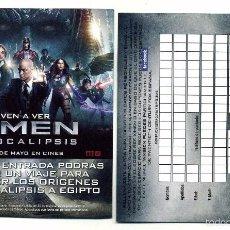 Cine: X-MEN APOCALIPSIS, CON MICHAEL FASSBENDER. . Lote 114449082
