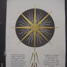 Cine: BIBLIOTECA DEL CINEMA DELMIRO CARALT- ESTRELLAS NAVIDAD - FELICITACION NUMERADA DE 270-(V-5901). Lote 57206240