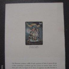 Cine: BIBLIOTECA DEL CINEMA DELMIRO CARALT - FELICITACION NUMERADA DE 260-(V-5902). Lote 57206277