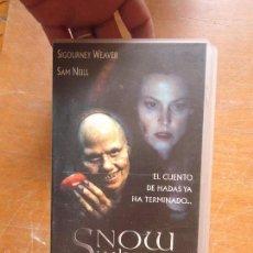 Cine: VHS - SNOW SWITE , LA VERDADERA HISTORIA DE BLANCA NIEVES. Lote 57700183